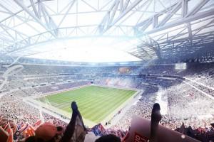 photo stade olympique lyonnais