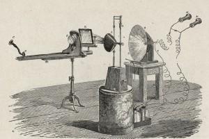 Le photophone d'Alexander Graham Bell, 1880